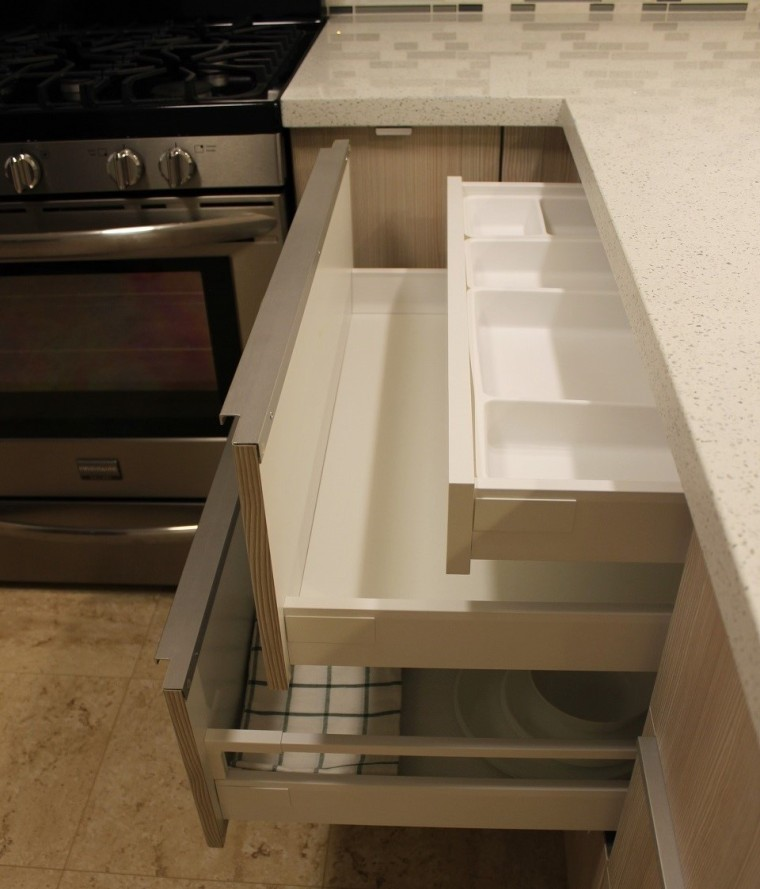 Modern Custom Kitchen Cabinets